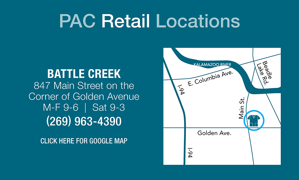Battle Creek PAC Retail Store Location
