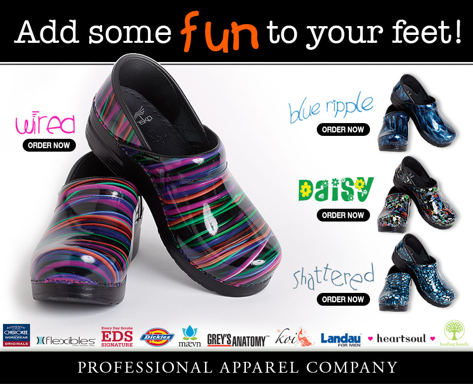 PAC-Professional Apparel Company Dansko Shoes