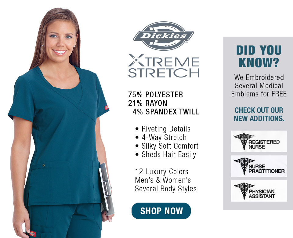 PAC-Professional Apparel Company EXTREME Stretch Scrubs
