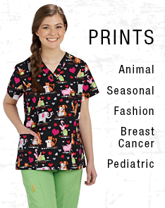 Print Scrubs from Professional Apparel Company
