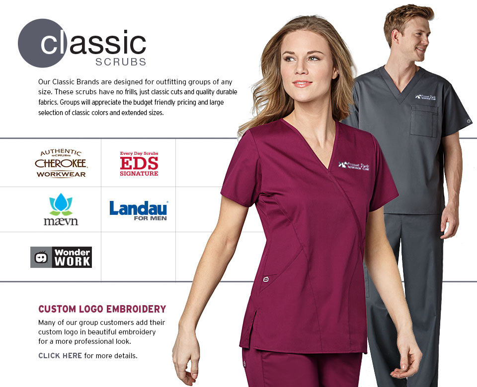 PAC-Professional Apparel Company Classic Scrubs