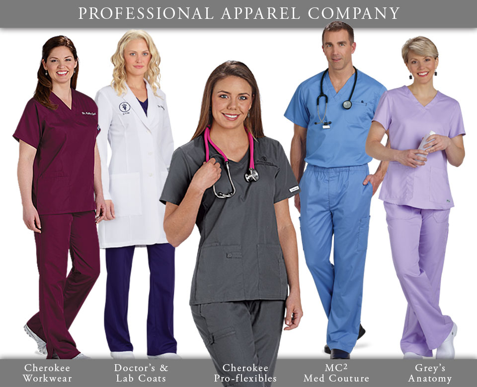 Medical Uniforms from Professional Apparel Company