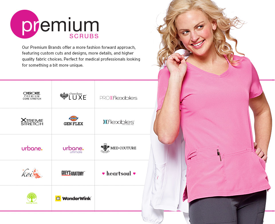 PAC-Professional Apparel Company Premium Fashion Scrubs