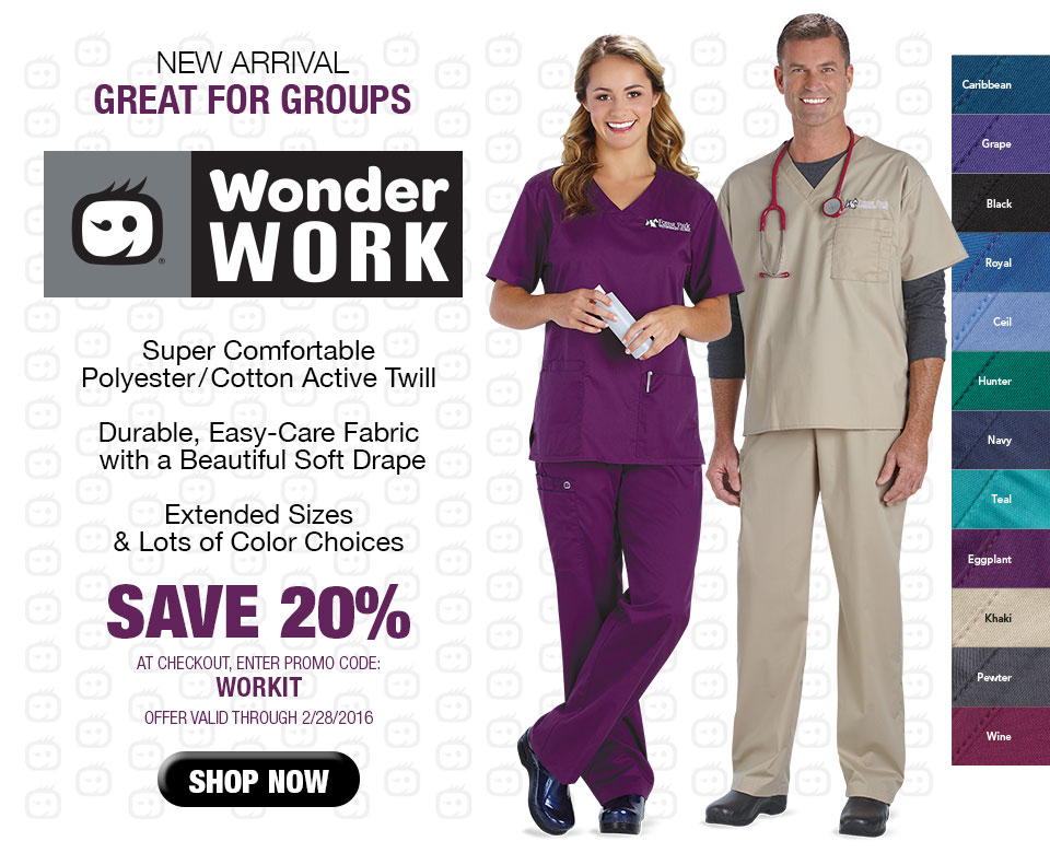 PAC-Professional Apparel Company WONDER WORK